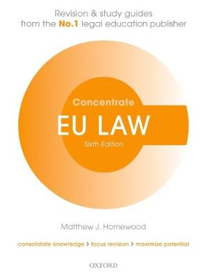 EU Law Concentrate - Matthew Homewood