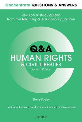 Concentrate Questions and Answers Human Rights and Civil Liberties - Steve Foster