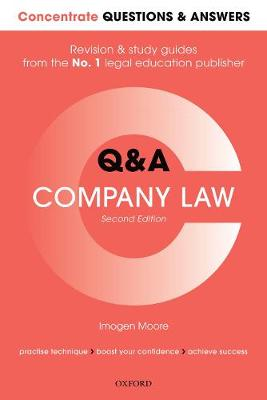 Concentrate Questions and Answers Company Law - Imogen Moore