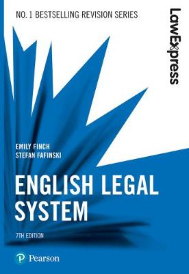 Law Express: English Legal System - Emily Finch