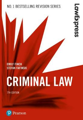 Law Express: Criminal Law - Emily Finch