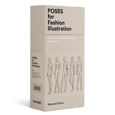 Poses for Fashion Illustration (Card Box) - Fashionary