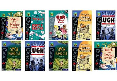 Oxford Reading Tree TreeTops Chucklers: Oxford Levels 16-17: Pack of 36 - Jeremy Strong