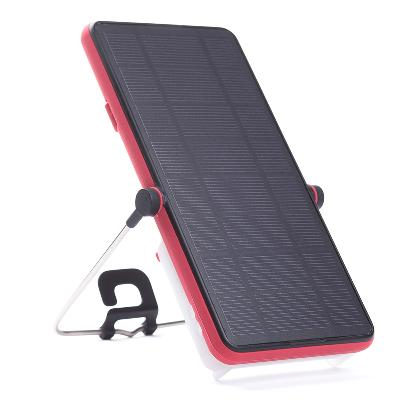 5bf8fb89 Solcellelader med lys BRIGHT Move Smart Berry Red - Bright Products