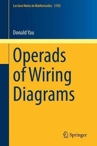 Operads of Wiring Diagrams - Donald Yau