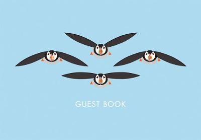 I Like Birds: Flying Puffins Guest Book - I Like Birds