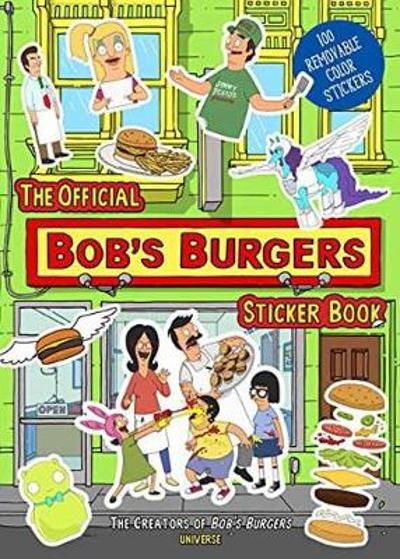 The Official Bob's Burgers Sticker Book - 20th Century Fox