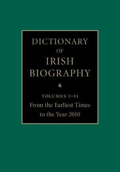 Dictionary of Irish Biography 11 Hardback Volume Set - James McGuire