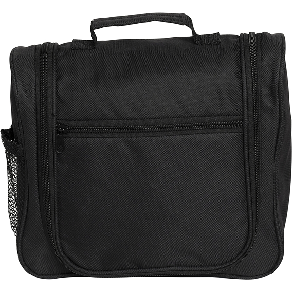 Black Hanging Toiletry Bag - JJDK