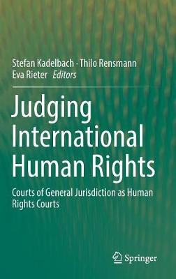 Judging International Human Rights - Stefan Kadelbach