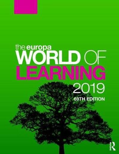 The Europa World of Learning 2019 - Europa Publications