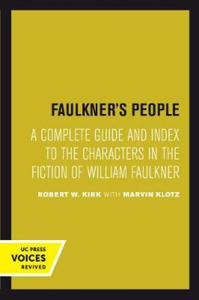 Faulkner's People - Robert W. Kirk