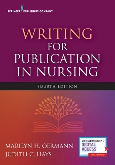 Writing for Publication in Nursing - Marilyn H. Oermann