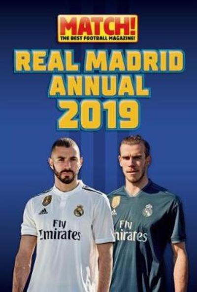 Match! Real Madrid Annual 2019 -