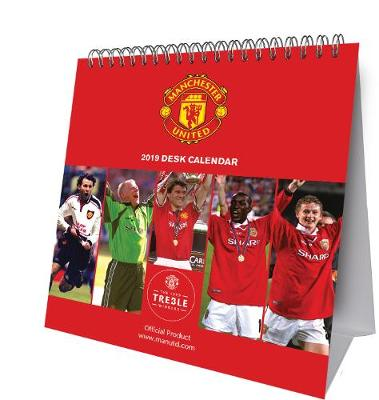 Manchester United Desk Easel Official 2019 Calendar - Desk Easel Format -