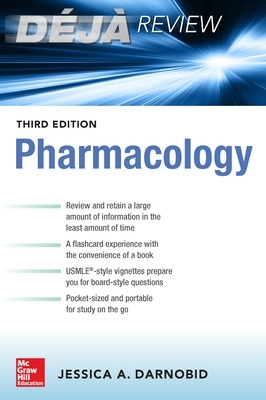 Deja Review:  Pharmacology, Third Edition - Jessica Gleason