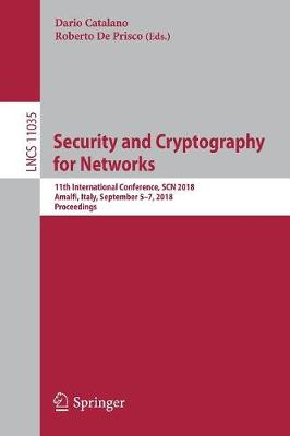 Security and Cryptography for Networks - Dario Catalano