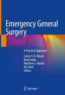 Emergency General Surgery - Carlos V. R. Brown