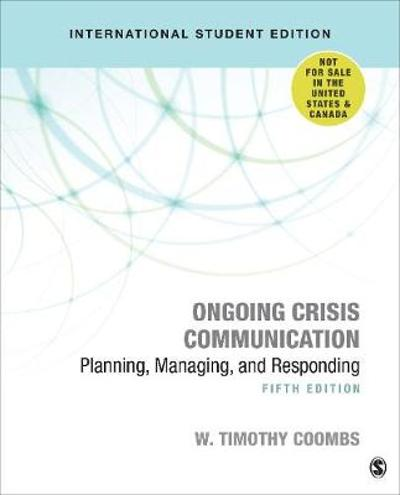 Ongoing Crisis Communication - Timothy Coombs