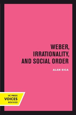 Weber, Irrationality, and Social Order - Alan Sica