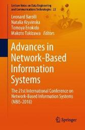 Advances in Network-Based Information Systems - Leonard Barolli Natalia Kryvinska Tomoya Enokido Makoto Takizawa