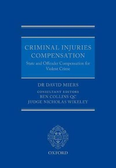 Criminal Injuries Compensation - David Miers