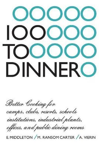 100 to Dinner - Elspeth Middleton
