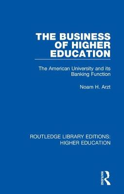Routledge Library Editions: Higher Education - Various