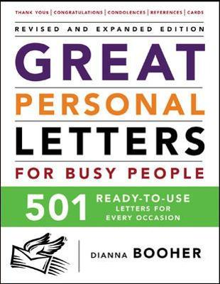 Great Personal Letters for Busy People - Dianna Booher