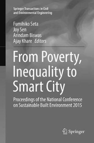 From Poverty, Inequality to Smart City - Fumihiko Seta