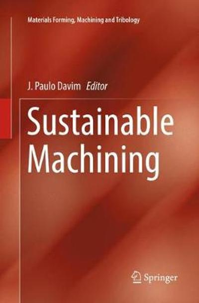 Sustainable Machining - J. Paulo Davim