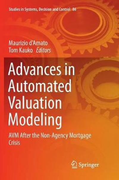 Advances in Automated Valuation Modeling - Maurizio d'Amato