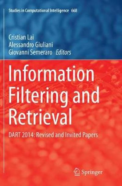 Information Filtering and Retrieval - Cristian Lai