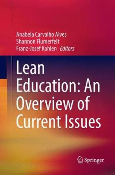 Lean Education: An Overview of Current Issues - Anabela Carvalho Alves