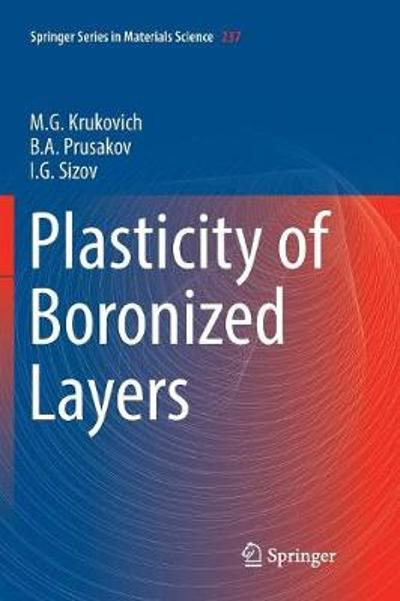 Plasticity of Boronized Layers - M. G. Krukovich