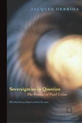 Sovereignties in Question - Jacques Derrida Thomas Dutoit Outi Pasanen