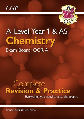 New A-Level Chemistry for 2018: OCR A Year 1 & AS Complete Revision & Practice with Online Edition - CGP Books