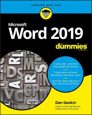 Word 2019 For Dummies - Dan Gookin