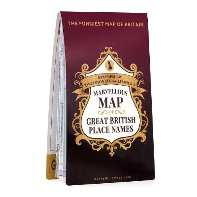 S T & G's Marvellous Map of Great British Place Names -
