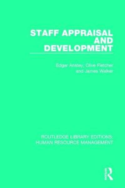 Staff Appraisal and Development - Edgar Anstey