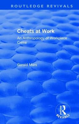 Cheats at Work - Gerald Mars