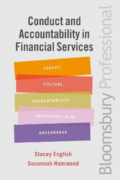 Conduct and Accountability in Financial Services - Stacey English