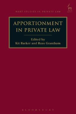 Apportionment in Private Law - Kit Barker