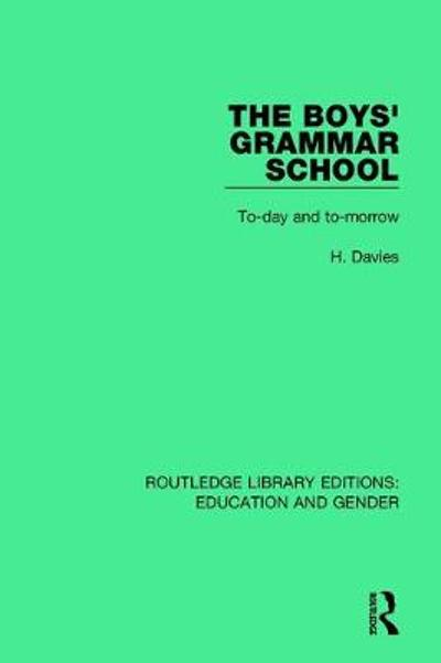 The Boys' Grammar School - H. Davies