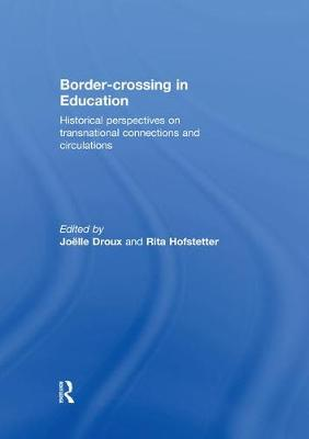 Border-crossing in Education - Joelle Droux