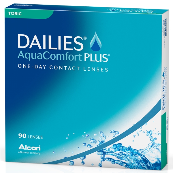 DAILIES AquaComfort Plus Toric 90p - Alcon