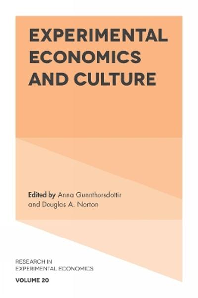Experimental Economics and Culture - Anna Gunnthorsdottir
