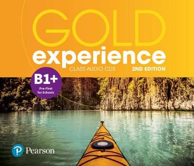 Gold Experience 2nd Edition B1+ Class Audio CDs - Lindsay Warwick