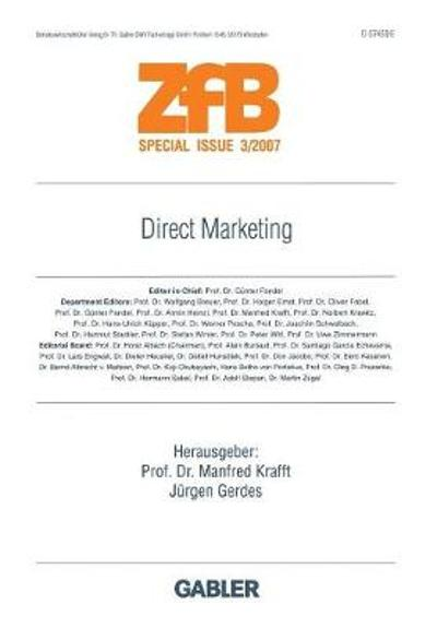 Direct Marketing - Manfred Krafft
