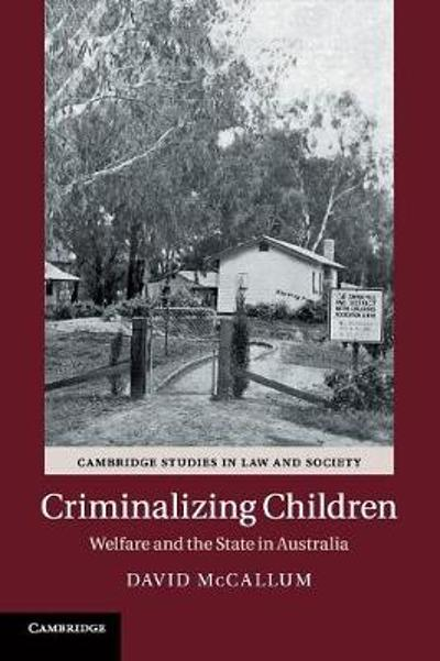 Criminalizing Children - David McCallum